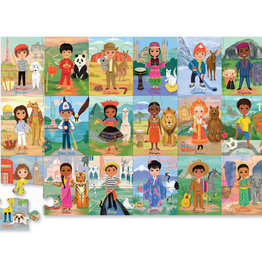 Crocodile Creek Children of the World 36 pc Puzzle