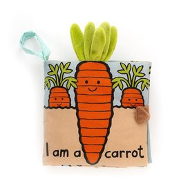 Jellycat I Am A Carrot - Sensory Book