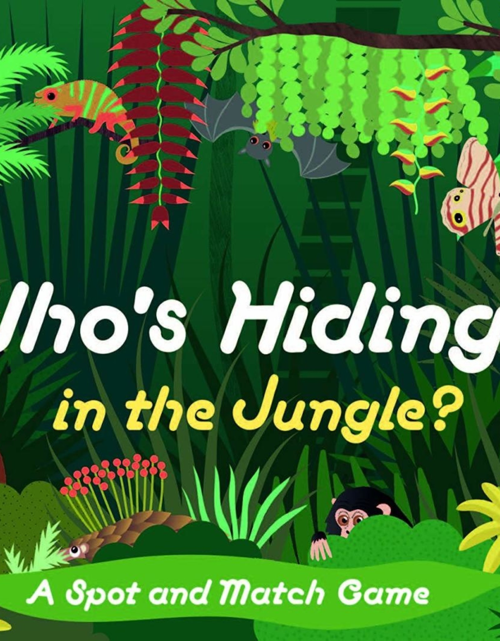 Who's Hiding in the Jungle - Game