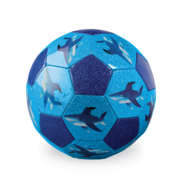 Crocodile Creek Glitter Soccer Ball - Shark City