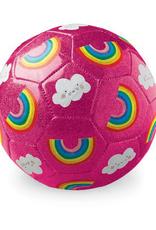 Crocodile Creek Glitter Soccer Ball - Rainbows
