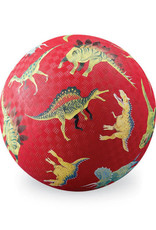 "Crocodile Creek 7"" Playball - Dinosaurs Red"