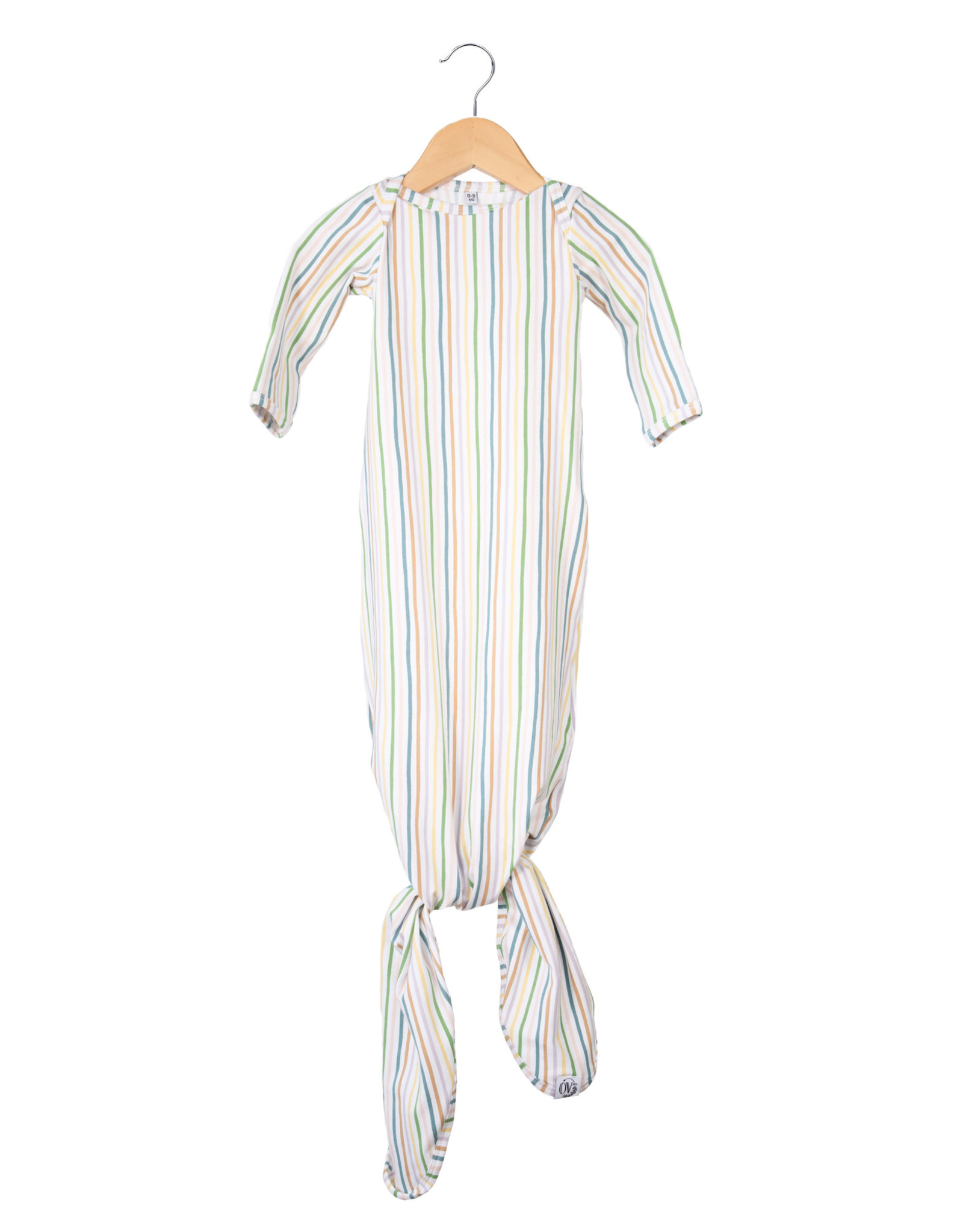 The Over Company The OVer Company Nodo Gown - Promise 0-3M