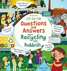 Usborne Lift the Flap Questions & Answers About Recycling & Rubbish