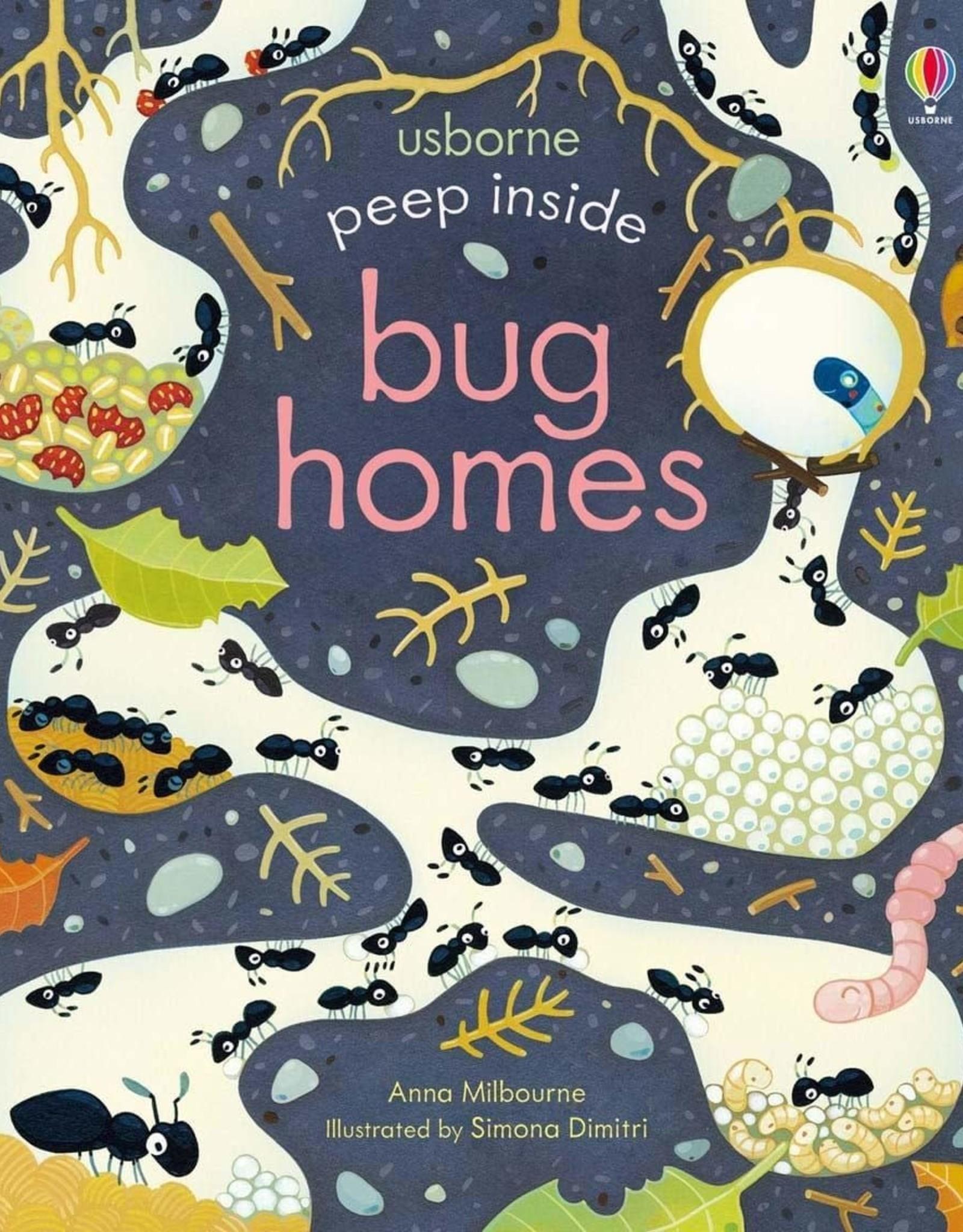 Usborne Peep Inside Bug Homes