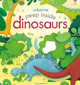 Usborne Peep Inside Dinosaurs