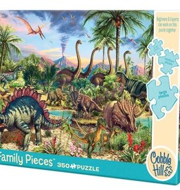 Cobble Hill Puzzles Prehistoric Party 350 piece puzzle - Family