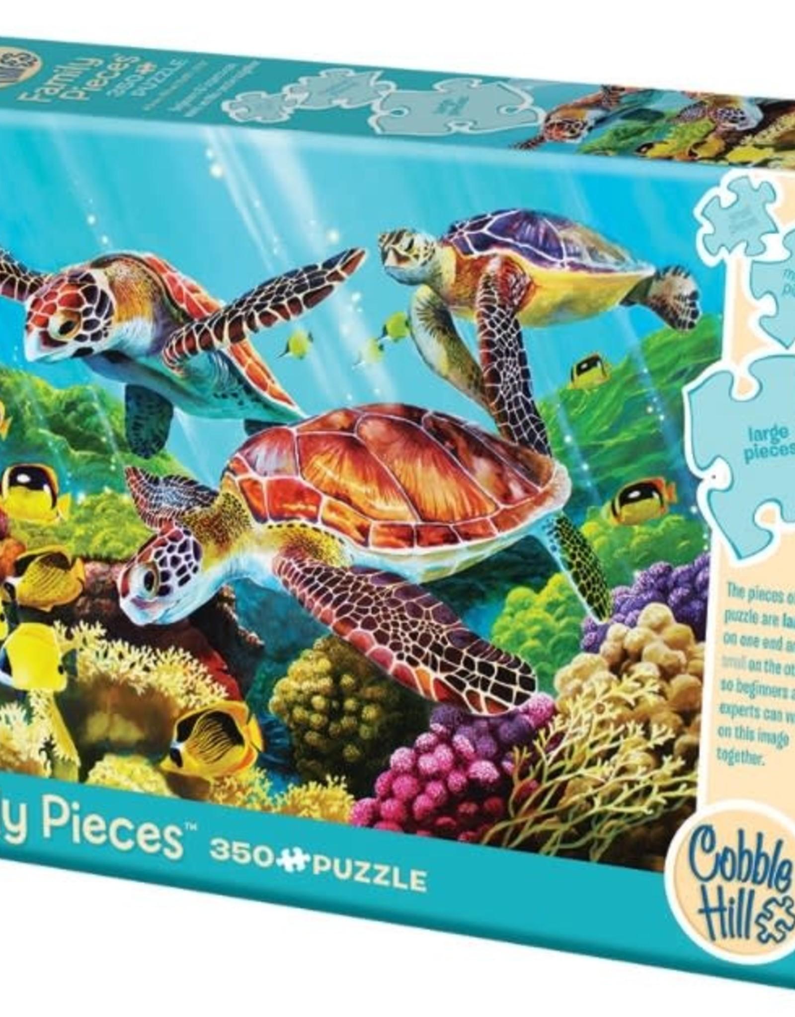 Cobble Hill Puzzles Molokini Current 350 piece puzzle - Family