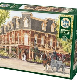 Cobble Hill Puzzles Prince of Wales Hotel 1000 Piece Puzzle