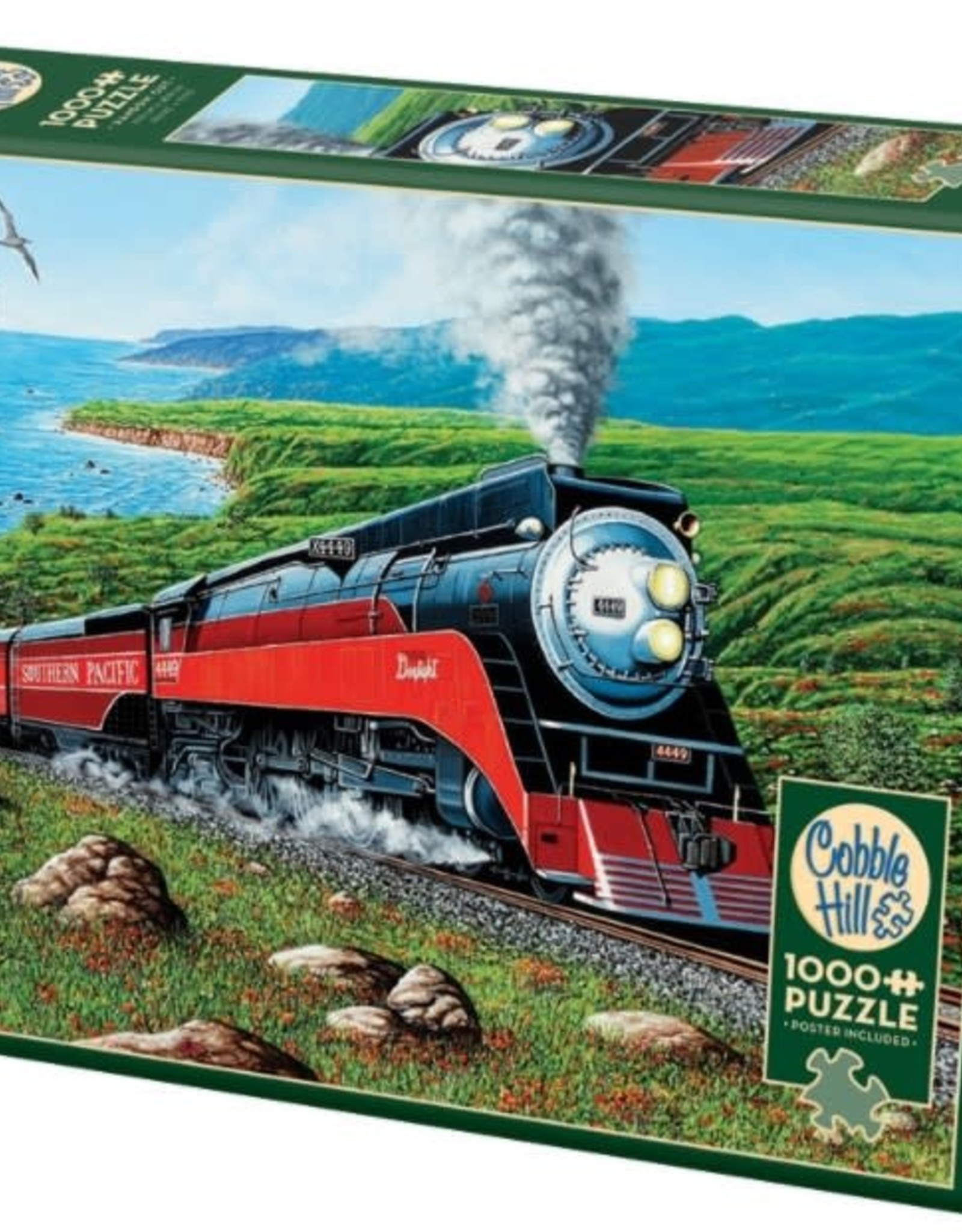 Cobble Hill Puzzles Southern Pacific 1000 Piece Puzzle
