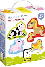 Banana Panda Banana Panda Hands at Play Farm Animals