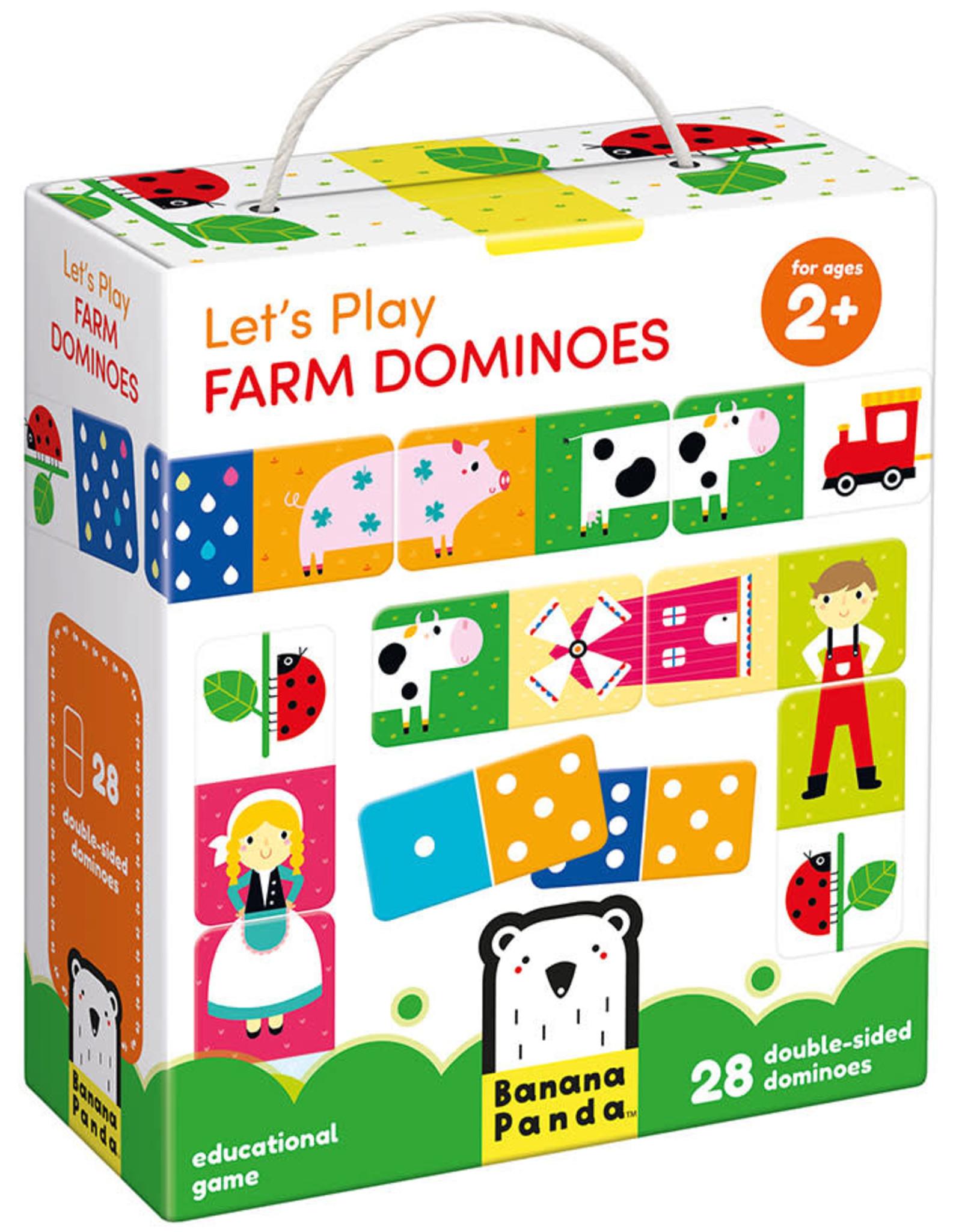 Banana Panda Banana Panda Let's Play Farm Dominoes