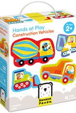 Banana Panda Banana Panda Hands at Play Construction Vehicles