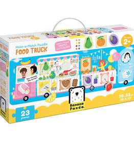Banana Panda Banana Panda Make-a-Match Puzzle Food Truck