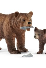 Schleich Schleich Grizzly Bear Mother and Cub