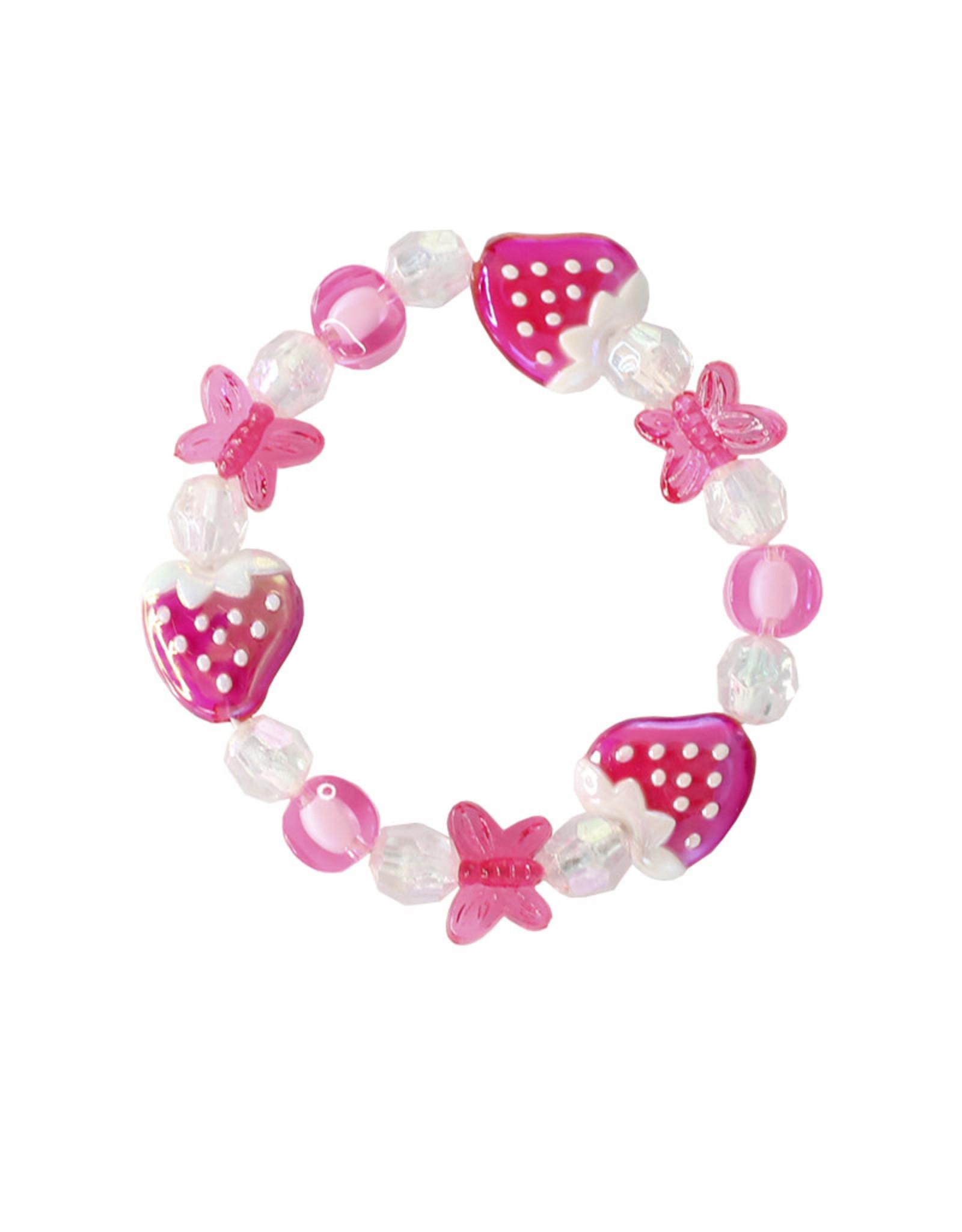 Great Pretenders Very Merry Strawberry Bracelet