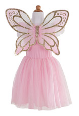 Great Pretenders Gold Butterfly Dress with Wings