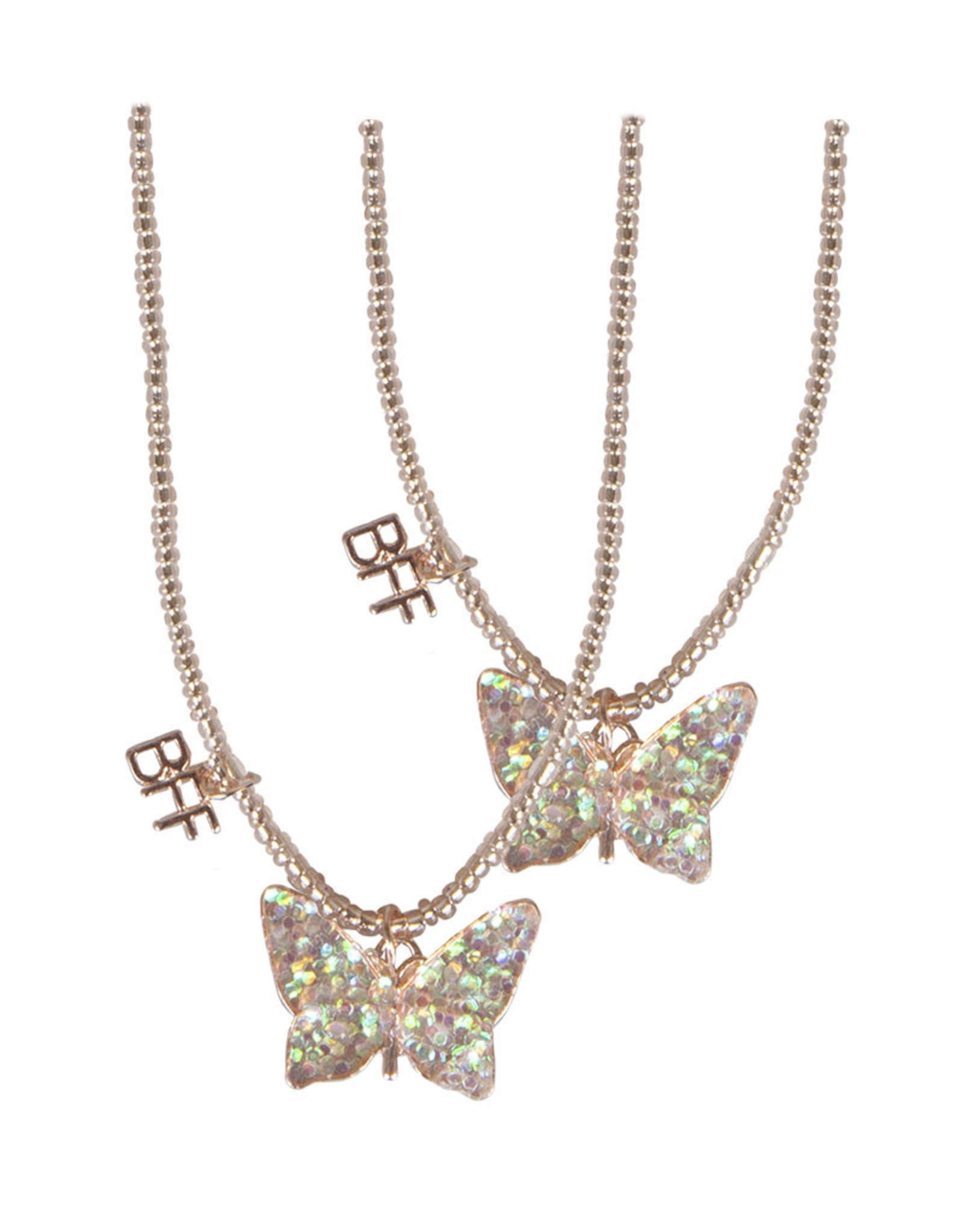Great Pretenders Butterfly BFF Necklace Set