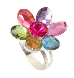 Great Pretenders Flower Gem Ring