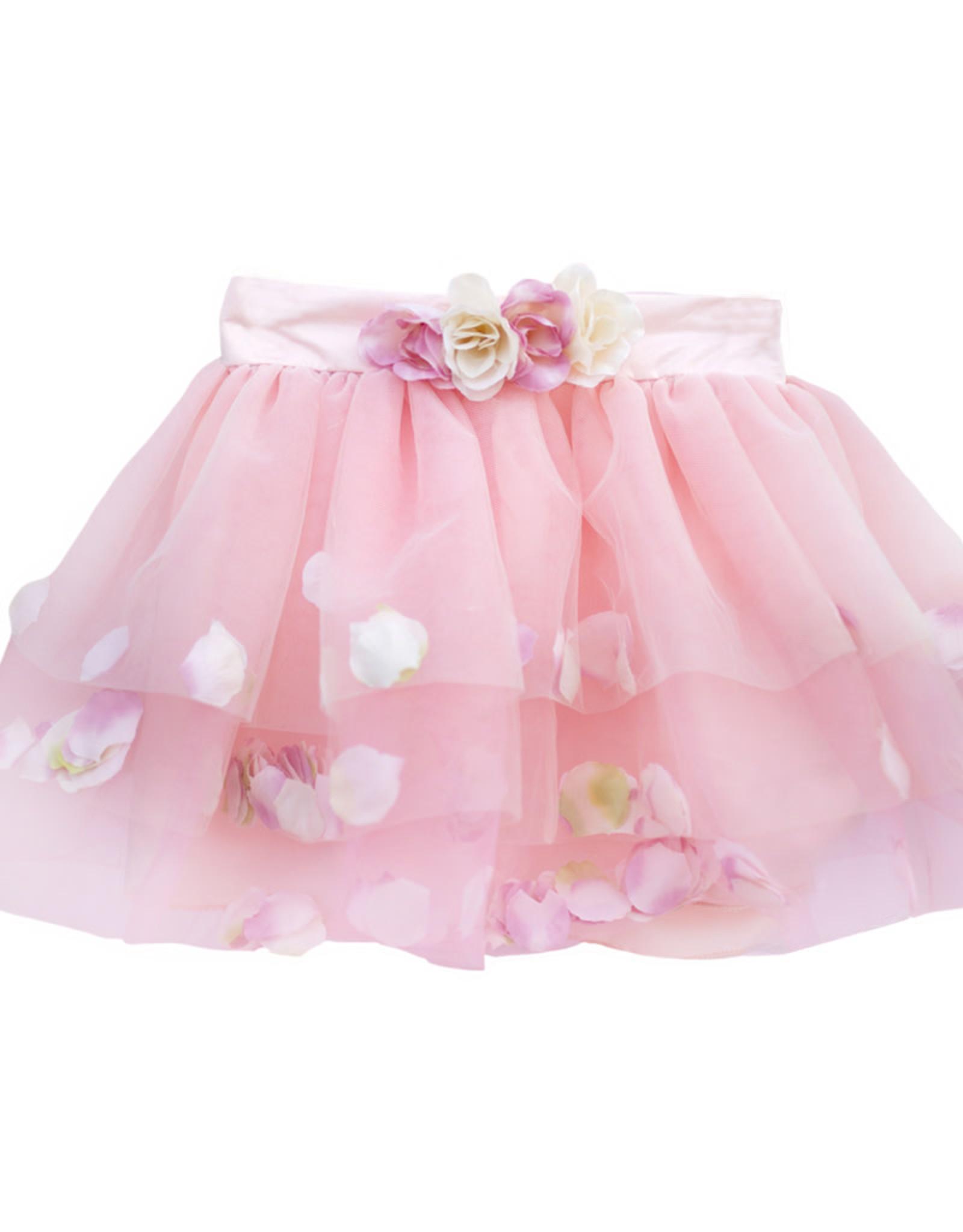 Great Pretenders Golden Rose Petal Skirt  - Size 4-6