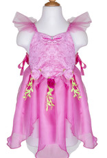 Great Pretenders Forest Fairy Tunic, Dark Pink, Size 5-6