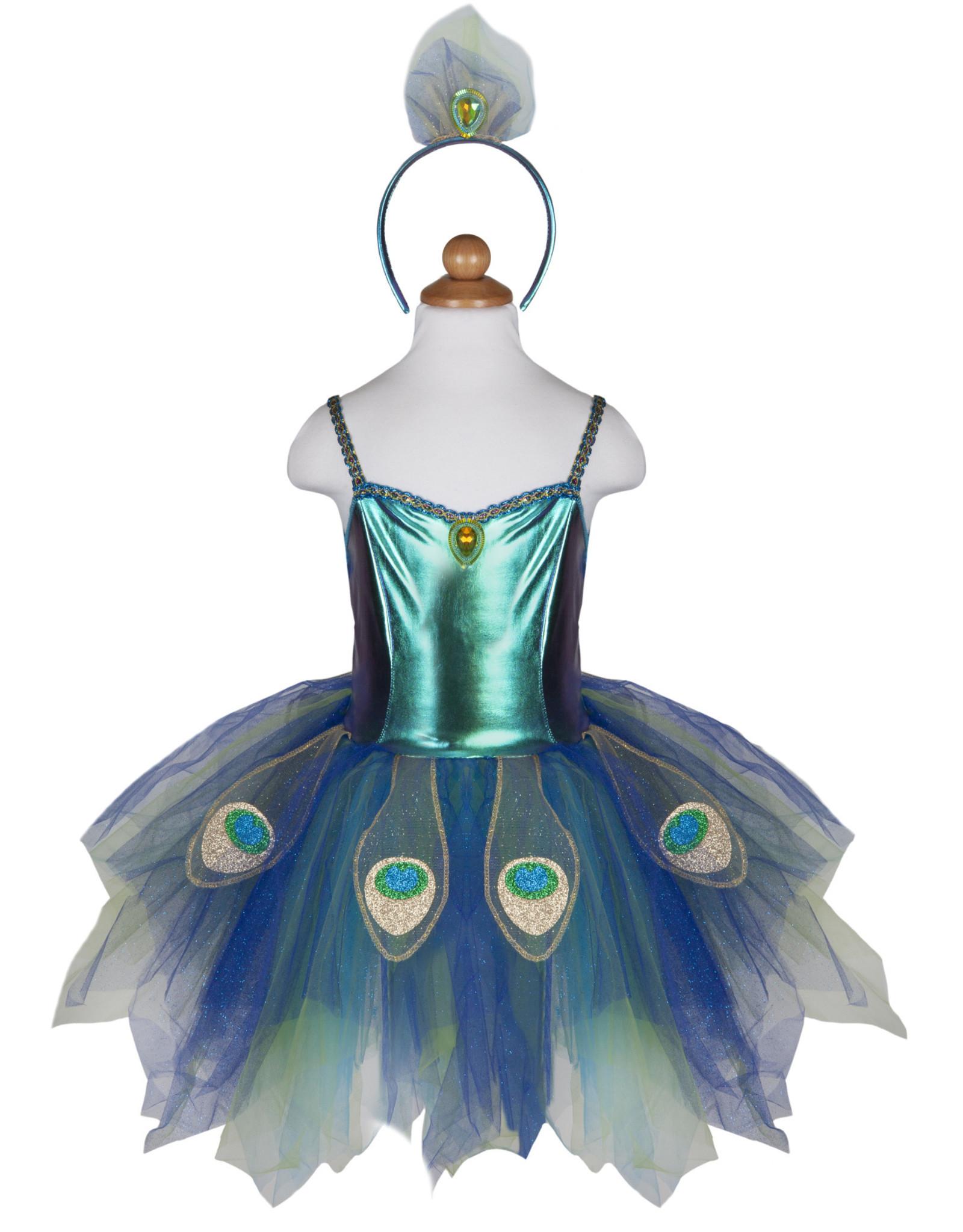 Great Pretenders Pretty Peacock Dress with Headband