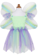 Great Pretenders Butterfly Dress with Wings & Wand - Green