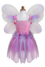Great Pretenders Butterfly Dress with Wings & Wand - Pink