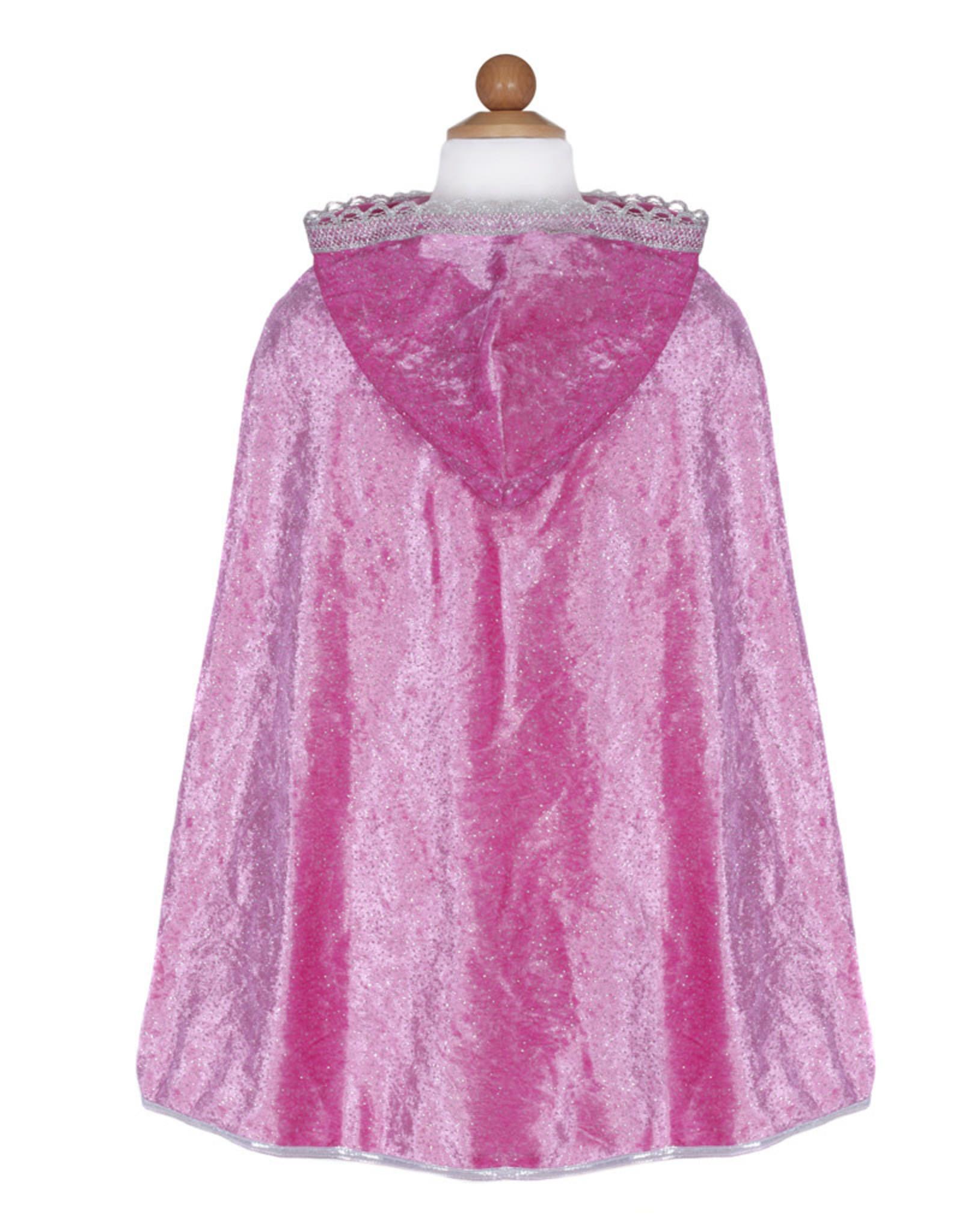 Great Pretenders Diamond Sparkle Cape, Dk Pink, Size 3-4