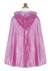 Great Pretenders Diamond Sparkle Cape, Dk Pink, Size 5-6