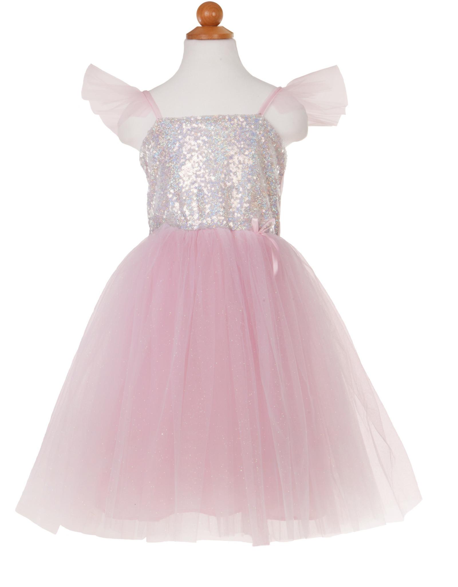 Great Pretenders Sequins Princess Dress - Pink - Size 3-4