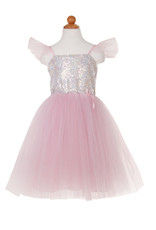 Great Pretenders Sequins Princess Dress - Pink - Size 5-6