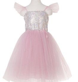 Great Pretenders Sequins Princess Dress - Pink - Size 5-6