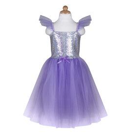 Great Pretenders Sequins Princess Dress - Lilac - Size 5-6