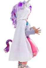 Great Pretenders Toddler Unicorn Cape - White - Size 2-3