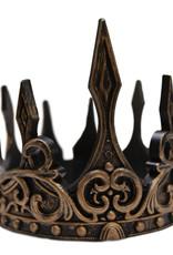 Great Pretenders Medieval Crown, Gold/Black