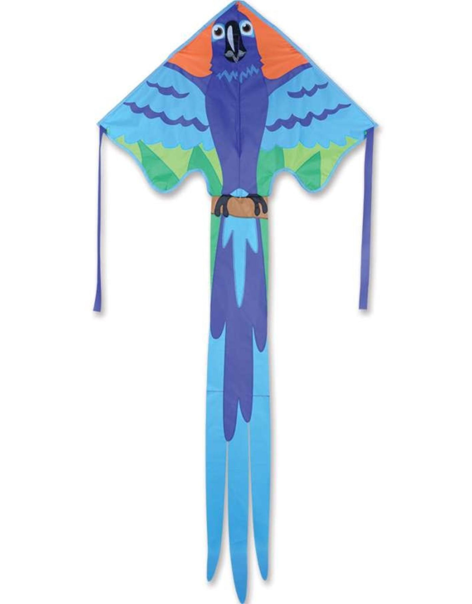 Premier Kites Large Easy Flyer Kite - Blue Macaw