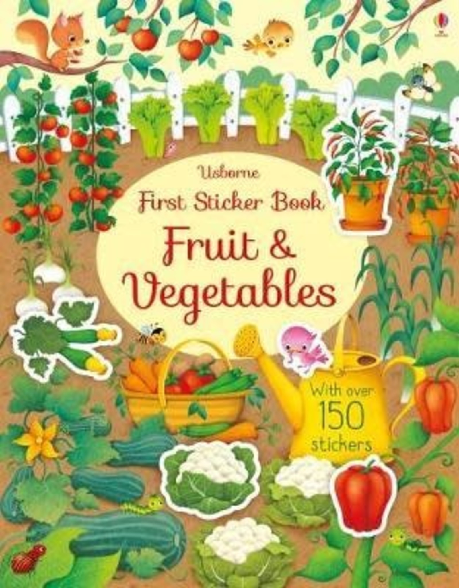 Usborne Usborne First Sticker Book - Fruits & Vegetables