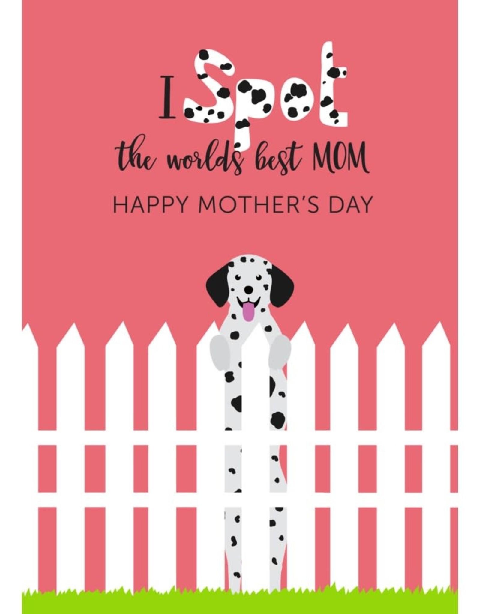 Card - Spot World's Best Mom