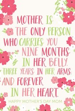 Card - Mother is the Only Person
