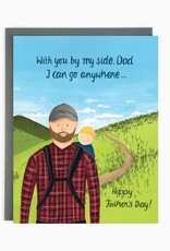 Card - Dad Hiking