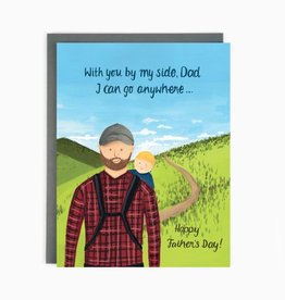 Card - Dad Hiking