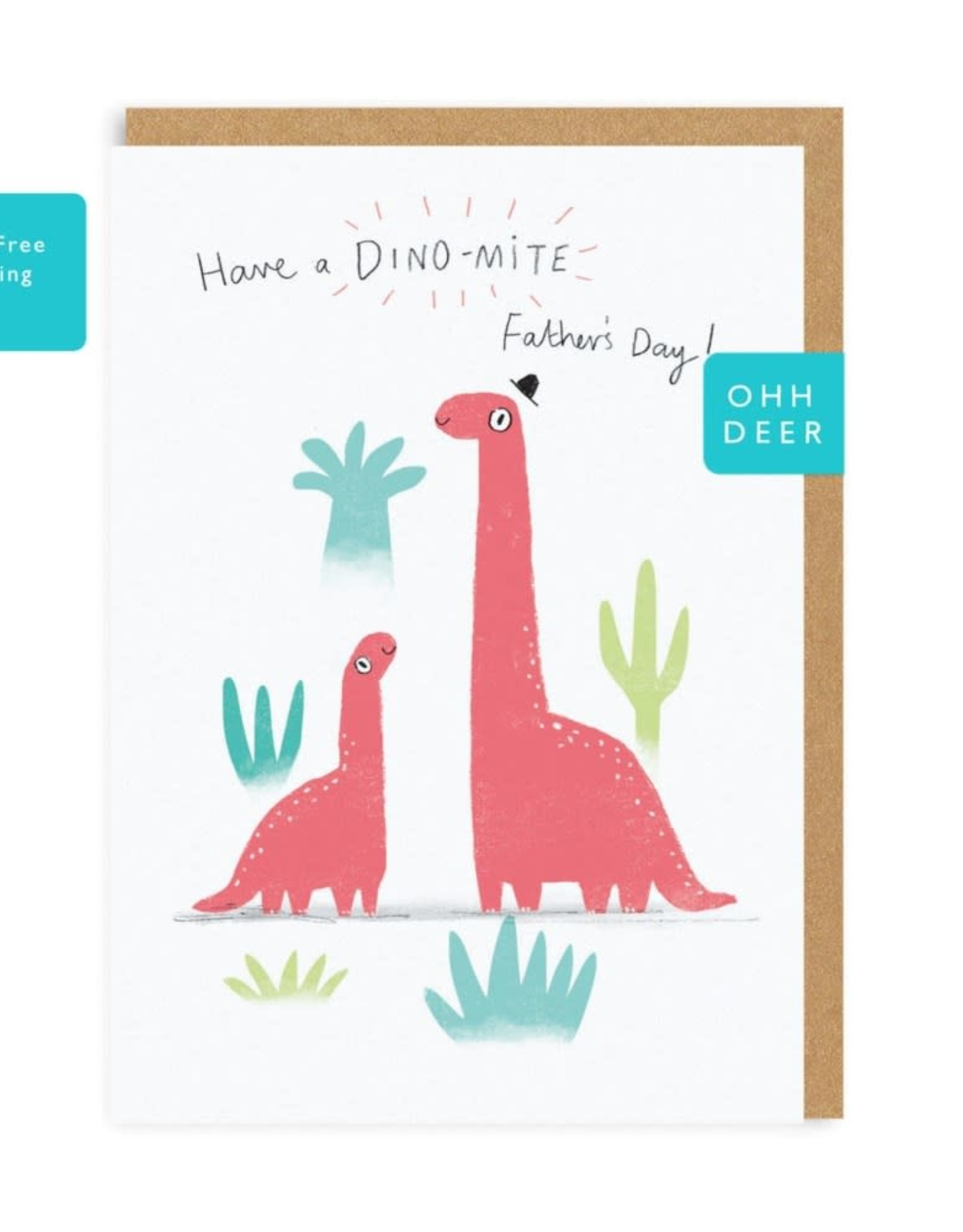 Card - Dino-mite Father's Day