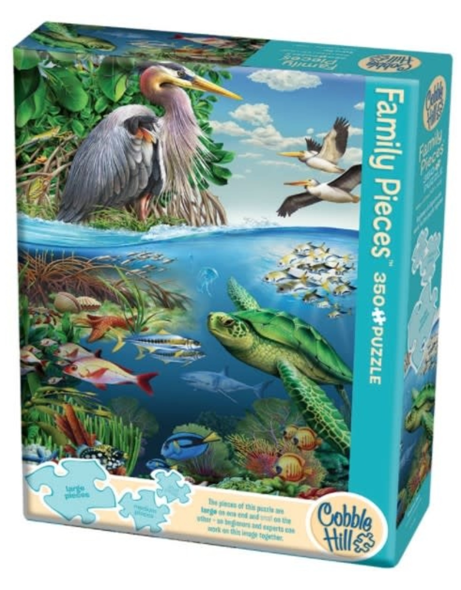 Cobble Hill Puzzles Earth Day - 350 piece Family Puzzle
