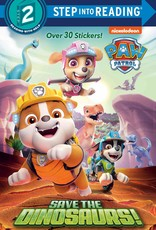HarperCollins Step Into Reading: Paw Patrol - Save the Dinosaurs