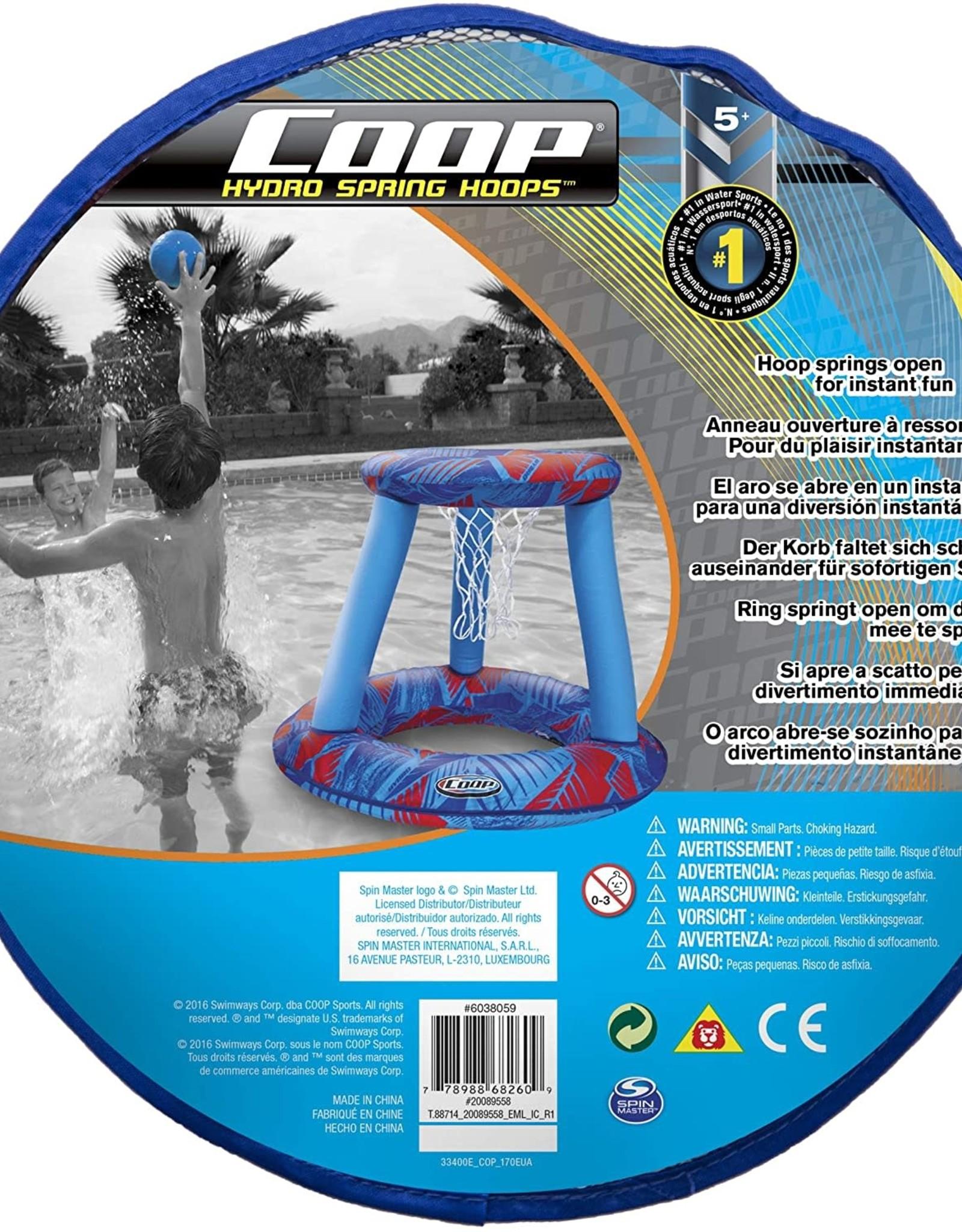 Swimways Coop Hydro Spring Hoops