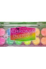Ooly Chroma Blends Pearlescent Watercolour Set