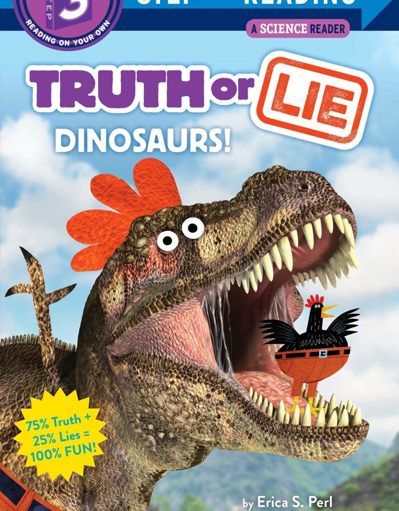 Penguin Random House Step Into Reading 3: Truth or Lie: Dinosaurs