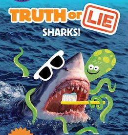 Penguin Random House Step Into Reading 3: Truth or Lie: Sharks