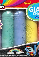 Cra-Z-Art Cra-Z-Art Super Jumbo Sidewalk Chalk - 5 piece